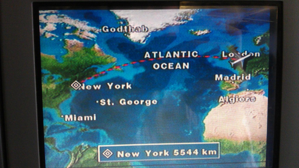 London to New York
