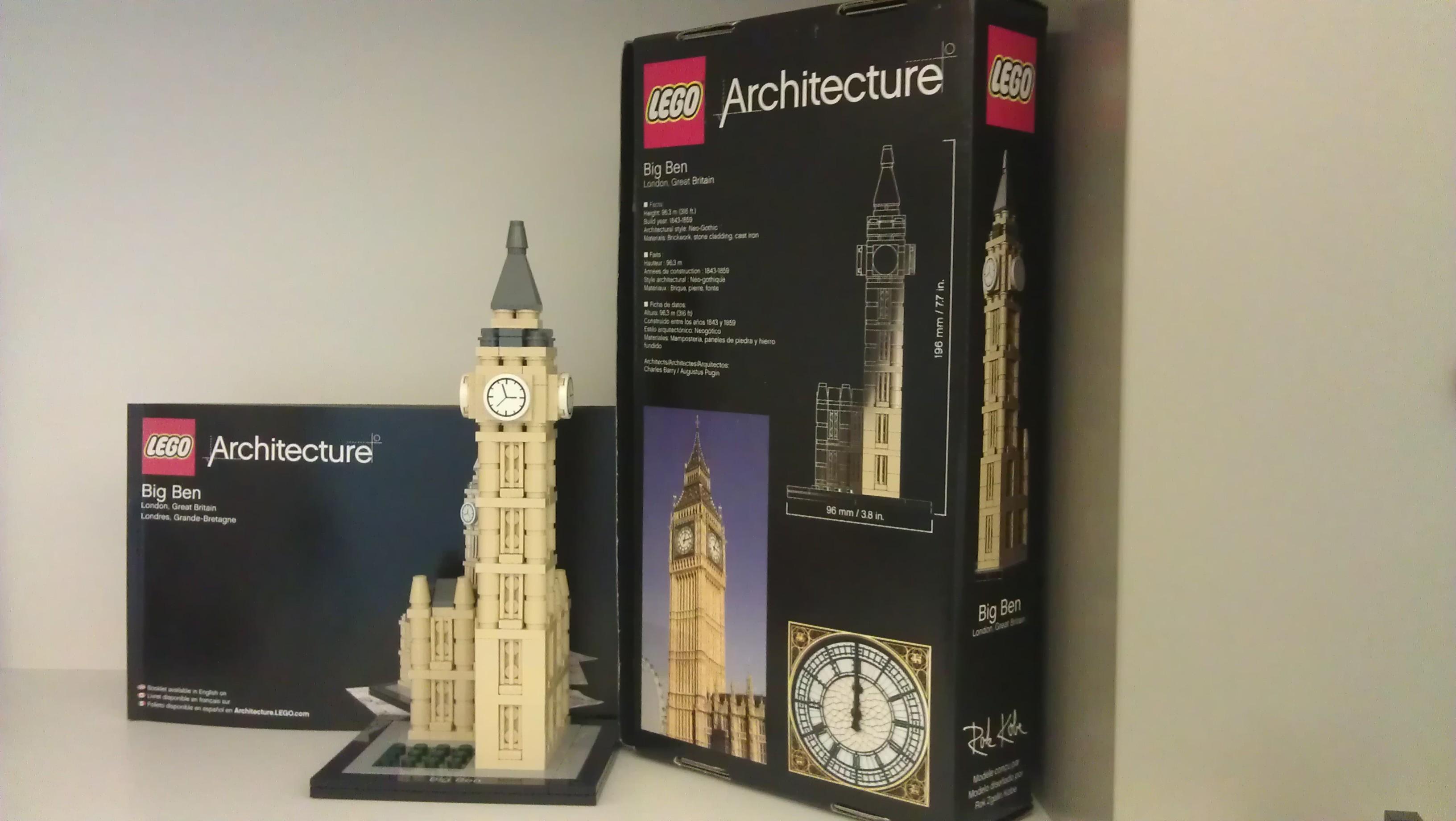 Lego Architecture Big Ben | Lego 21013 Big Ben Hello27 Net